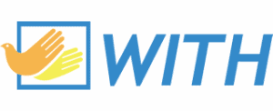 Logo for the WITH Foundation