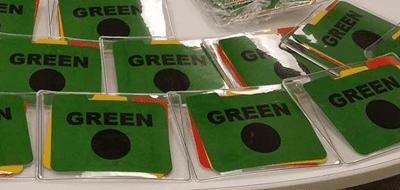 Color Communication Badges