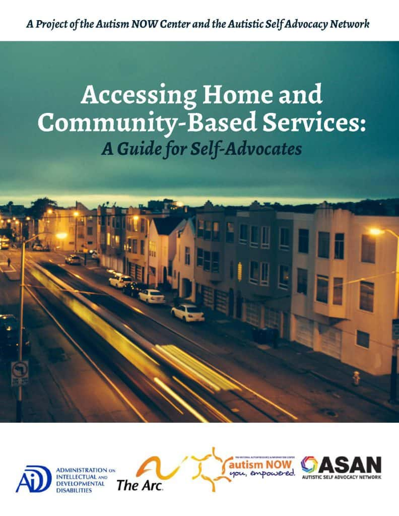 Book Cover: Accessing Home and Community-Based Services: A Guide for Self Advocates