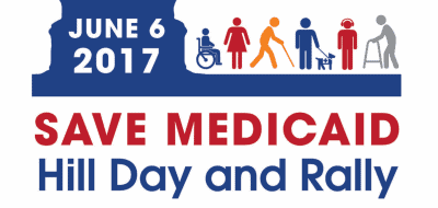 The logo for the June 6th Medicaid Day of Action