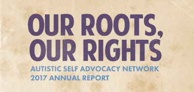 Our Roots, Our Rights: ASAN 2017 Annual Report cover