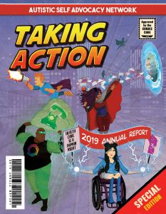 Taking Action: ASAN 2019 Annual Report cover