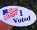 an I Voted sticker