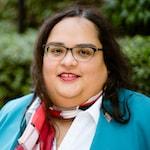 Headshot of Victoria M. Rodríguez-Roldán